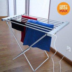 Étendoir à Linge Électrique Comfy Dryer Max (8 Barres)