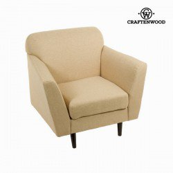 Fauteuil abbey beige - Collection Love Sixty by Craften Wood