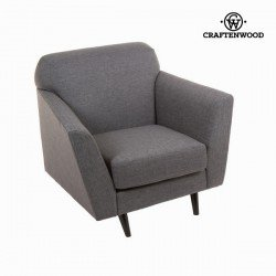 Fauteuil abbey gris - Collection Love Sixty by Craften Wood