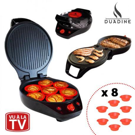 Duadine tarte express revolution appareil de cuisson for Appareil a cuire