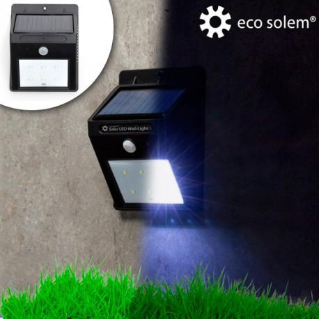 lumi re solaire avec d tecteur de mouvements eco solem achetez chez. Black Bedroom Furniture Sets. Home Design Ideas