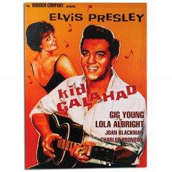 Affiche de Ciné Elvis Presley Kid Galahad