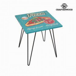 Table carrée pizza by Craften Wood