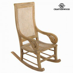 Chaise à bascule vintage by Craften Wood