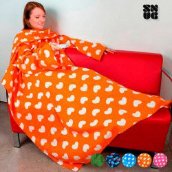 Couverture à Manches Adultes Snug Snug Extra Douce Designs Originaux