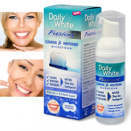 MOUSSE DE BLANCHIMENT DENTAIRE DAILY WHITE