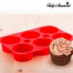 Moule en silicone pour cupcakes Tasty American