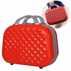 DIAMANT VANITY CASE ROUGE- NOUVELLE GENERATION