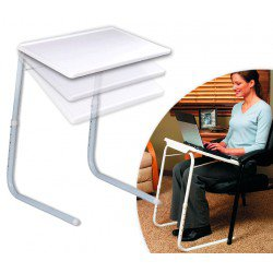 TABLE PLIANTE PORTATIVE - POUR LIT
