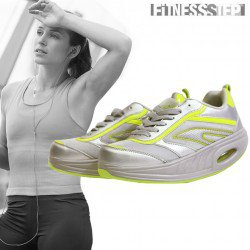 FITNESS STEP GREY/YELLOW