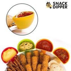 Coupelles Apéro à Clip Snack Dipper (pack de 4)