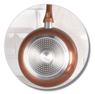 po le en cuivre starlyf copper pan 20 cm achetez chez. Black Bedroom Furniture Sets. Home Design Ideas