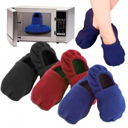 CHAUSSONS CHAUFFANTS AU MICRO-ONDES
